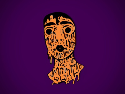 Design Something Spooky - Weekly Warmup Prompt #9 adobefresco walkingdead creepy character halloween illustrator vector illustration warmup dribbbleweeklywarmup