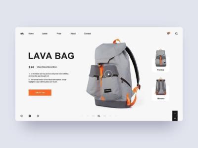 E-COM UI -Sell a Bag.