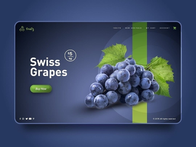 Grapes Fruit Store UI