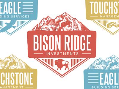 Bison Ridge Logo Series