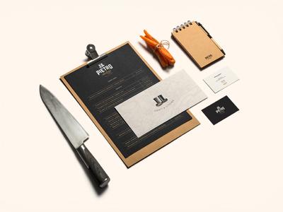 Multitap branding vintage design card business multitap brewery restaurant branding bar stationary