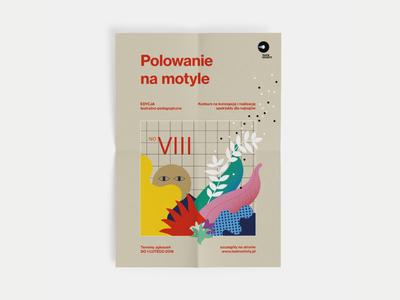 Theatre Poster typography theatre retro poster paper