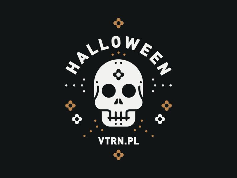 Halloween muerto day of the dead vector illustration skull halloween art