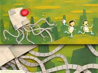Don, Leena, & the Robot Squid