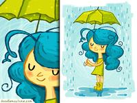 Green Rainboots