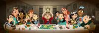 D & D Last Supper