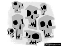 Spooooooooky Skulls