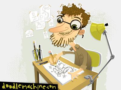 IT'S MEEEEEEEEEEEEEEEEEE! dinosaur pencil sketching professional creative working artist beard mascot cute illustrator freelance vector commission character cartoon drawing art illustration