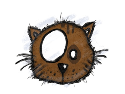 cat handdrawing character design childrens book animal pencil adorable kitten cat sketch kids eyes design cute pieloot illustration