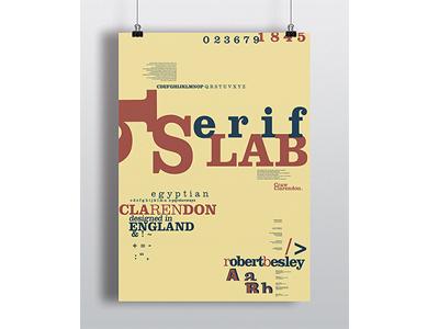 Clarendon Poster slabserif clarendon poster typography