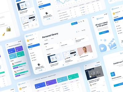 ClipFLip - create quick videos mobileappdesign ui designer design app