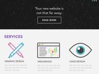 justinjwilson.com Redesign (services)