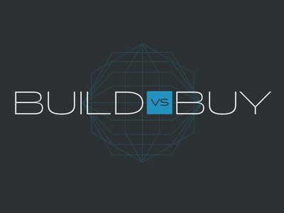 Build vs Buy software software as a service tech technology saas blue blog