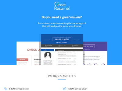 Great Resume – Home Mockup website mockup resume web website mockup