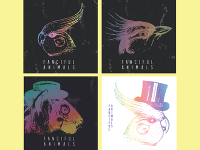Fanciful Animals Album Covers band logo logo vinyl music album artwork album art album cover album animal animals