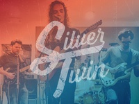Silver Twin Band Logo