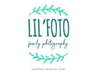 Lil' Foto logo design