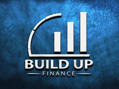 Build Up Finance Logo design logos illustration design illustrator business logo business adobe photoshop adobe illustrator logo graphic design