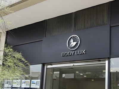 BODY LUX Logo design logos illustration illustrator design business logo business adobe photoshop adobe illustrator logo graphic design