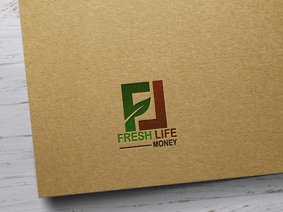 Fresh Life Logo design illustration logos vector design business logo business adobe photoshop adobe illustrator logo illustrator graphic design