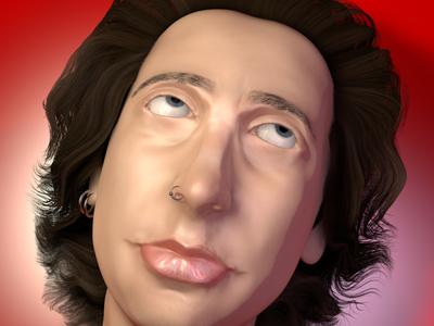3D Self Portrait - Keanu Manao maxon3d 3d artist sculpt sculpting maxonc4d maxon texturing c4d cinema4d modeling digital art 3d art 3d 3d render 3d sculpting 3d modeling