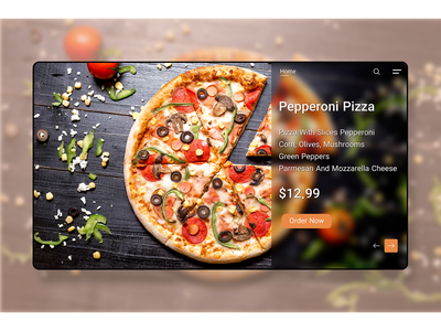 ordering pizza landing page motion graphics graphic design 3d animation branding logo illustration landing page web design mobile ui mobile design mobile app design ui design