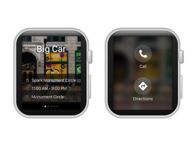 Contextual Notifications ux ui sketch apple smartwatch notifications wearables app