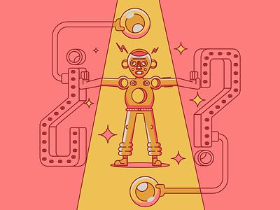 STOP vector minimal illustration illustrationartists design vectorart characterdesign affinitydesigner