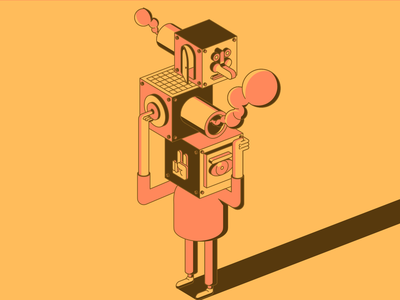 Balance vector minimal characterdesign illustration art vectorart affinitydesigner illustration