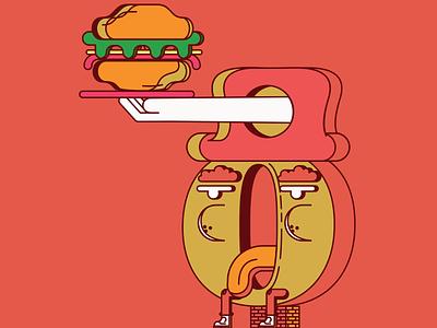 Character Design vector art food affinityserif affinitydesigner illustratiom vector