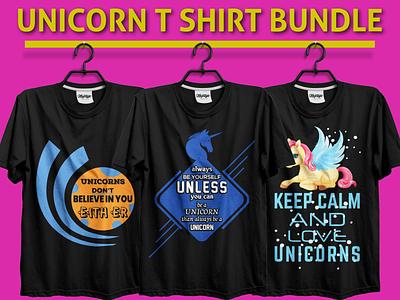 Unicorn T-Shirt Bundle t-shirt design ideas t shirt design t-shirt design t-shirt illustration branding t-shirt designer illustration design typography typographi t-shirt design t-shirt design template