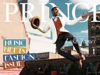 Prince Magazine Cover ft. Luke James