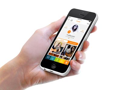 What's Next design ui ux app ios ios7 sarah mick app design apps color rainbow colorful