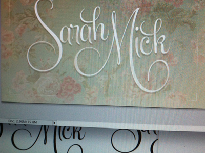 In Progress: Business Cards