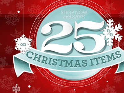 Christmas! christmas holiday illustration typography archer red seasonal texture snowflakes vector
