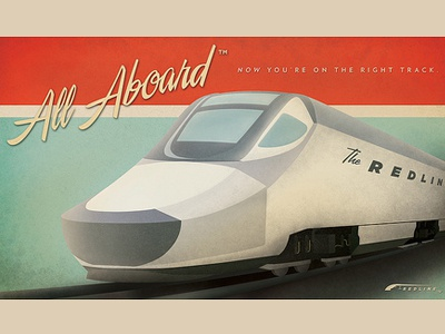All Aboard: Train Poster