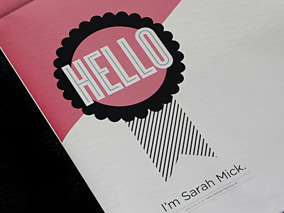 Screen Shot 2010 12 18 At 9.03.39 Pm design graphics illustration type typography hfj univers ribbons rules trendy graduation sarah mick
