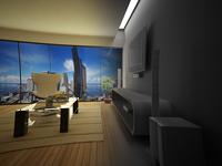 VR Minimalist Interior