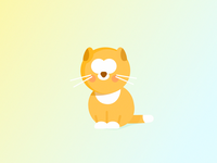 Orange the cat