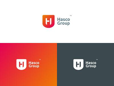 Hasco Group best shot product design ashique ukkadan idenity negative space group corporate identity logomark symbol monogram typography logotype identity flat clean branding minimal best logo logo h logo