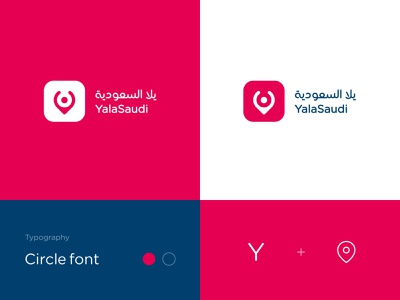 Yala Saudi Logo corporate brand identity corporate identity web app mobile app best logo y location logo typography logotype branding monogram identity flat clean minimal ashique ukkadan