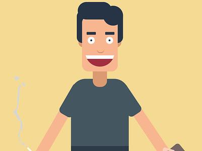 Simple character illustration illustraion characterdesign