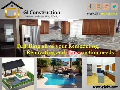 Remodeling, Renovating and Construction needs
