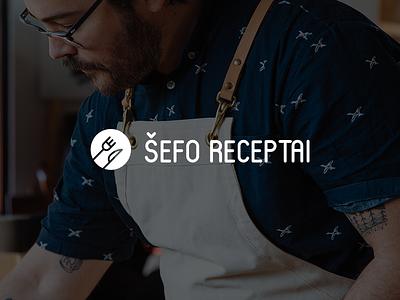Tasty logotype icon knive fork mono recipes identity food chef logotype logo
