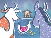 """""""A Barnyard Blessing"""" Illustration"""