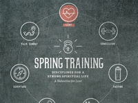 Spring Training: A Sermon Series for Lent