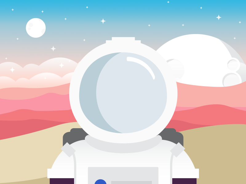 Spaceman spaceman adventure planet moon space