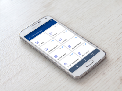 Android App for Warehouse employees!