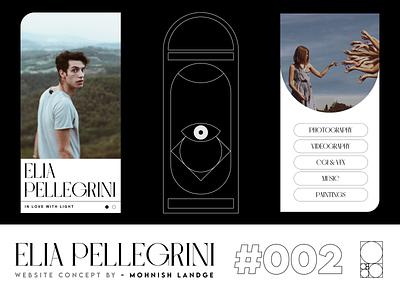 Modern Minimal Website Concept | Available for Purchase branding font ui webgl typography three.js portfolio minimal illustration graphic design design
