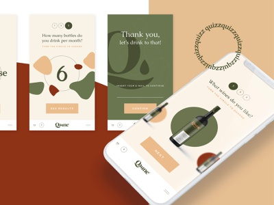 Web App Quizz for a Wine Club Membership web app wine web app development web app ux wine ui wine wine subscription quizz club membership club quizz wine box subscription as service subscription quizz web app quizz quizz app wine quizz subscription box